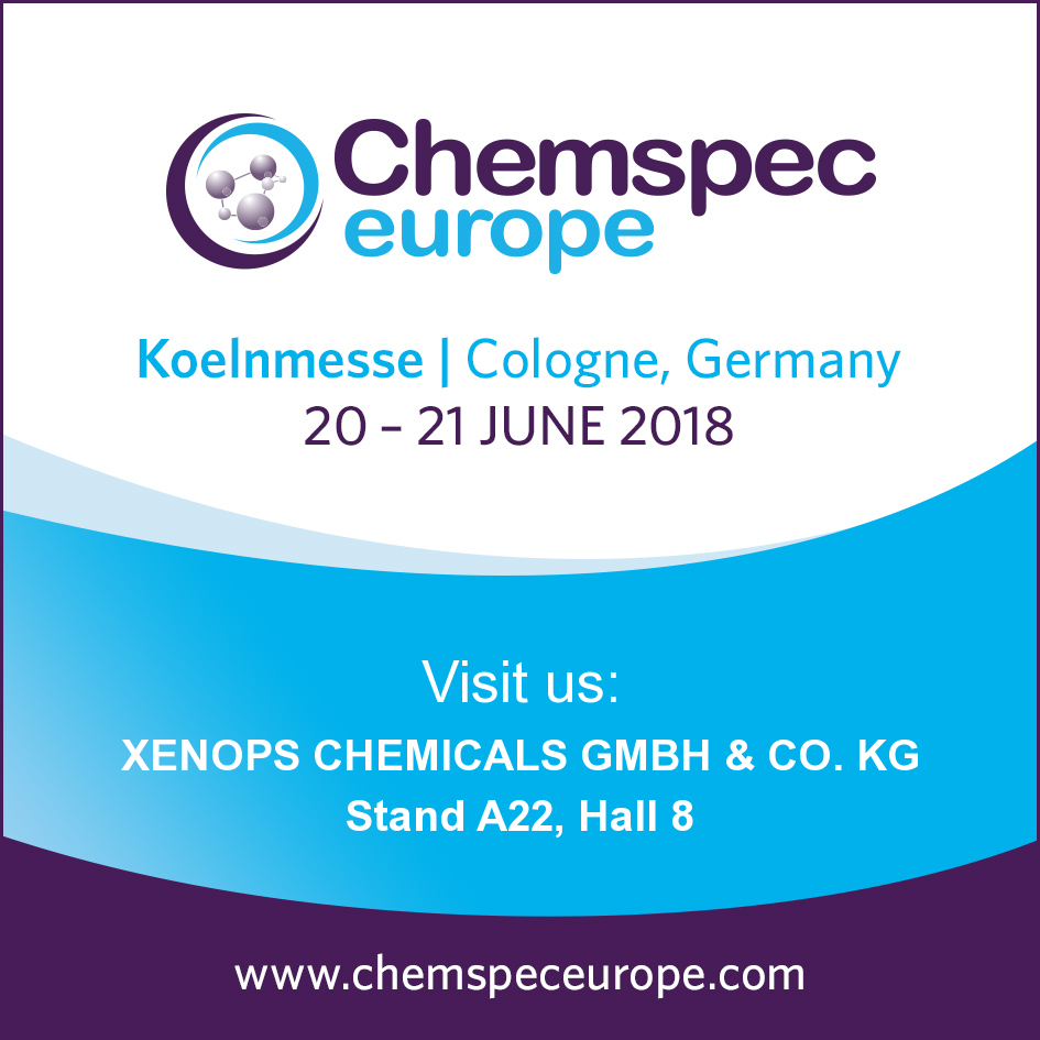 Chemspec Europe 2018 - XENOPS Chemicals